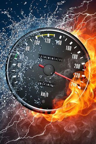 Гарячий спідометр