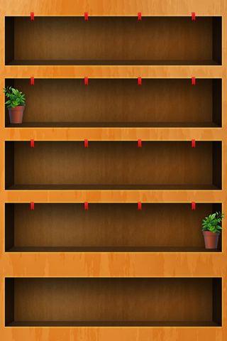 Wooden Shelf - Home Screen - IP4