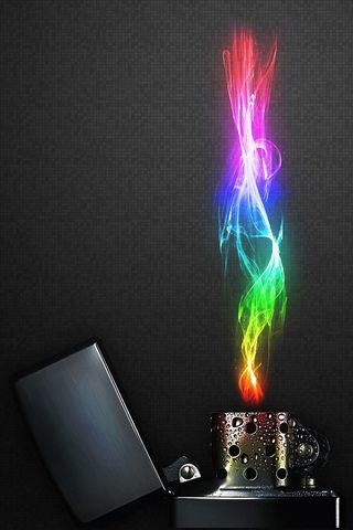 Colourful Lighter