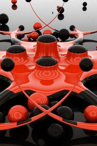 Siyah Kırmızı Toplar