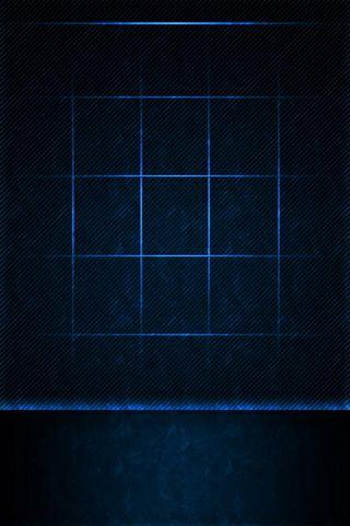 Pele azul do ícone