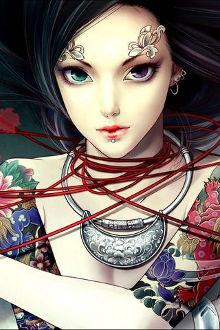 Anime-tattoo-princess