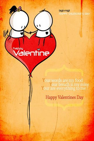 BigliMigli - Selamat Hari Valentine 640x960