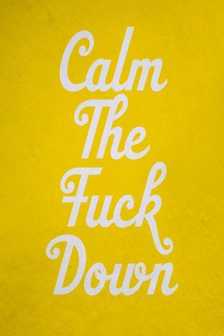 Uspokój się