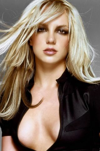 Britney In Black