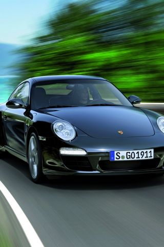 Black-Porsche