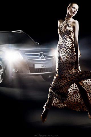 Гарячий Mercedes
