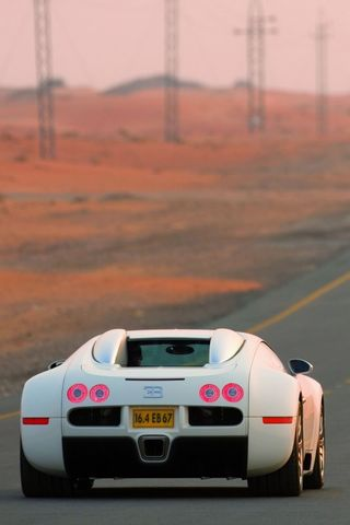 Bugatti Veyron On Road