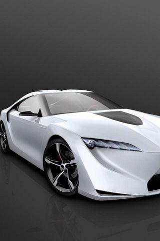 Toyota Concept White