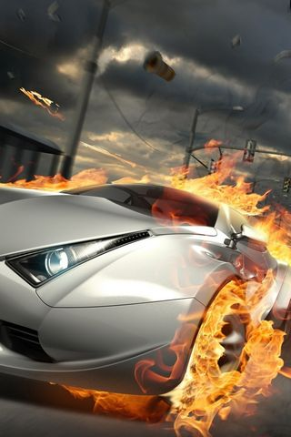 Гарячий автомобіль
