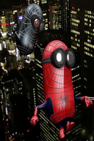 Venion And Spiderminion