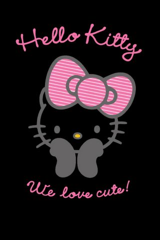 Black Hello Kitty