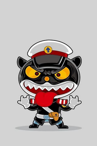 पुलिस बिल्ली