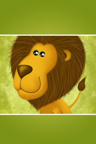 Lion - Lock Screen - IP4