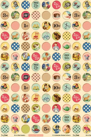 Cartoon Circular Pattern
