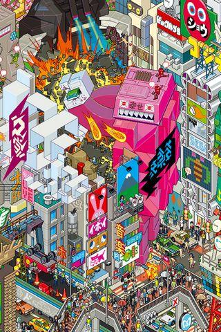 Tokyo Pixel City