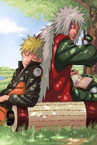 Jiraiya N Naruto