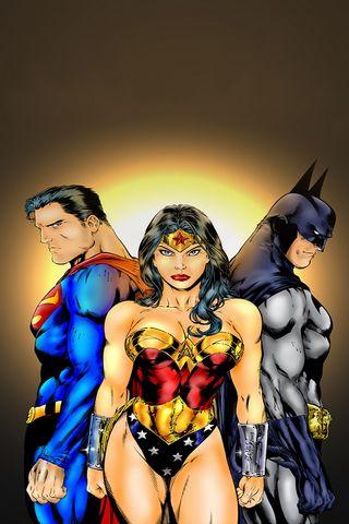 Justice League Trio