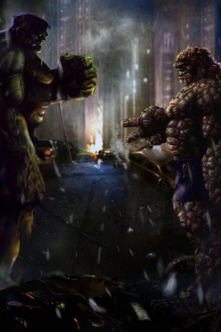 HuLk vs Thing Rps