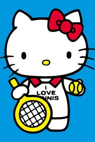 Bonjour Kitty Tennis