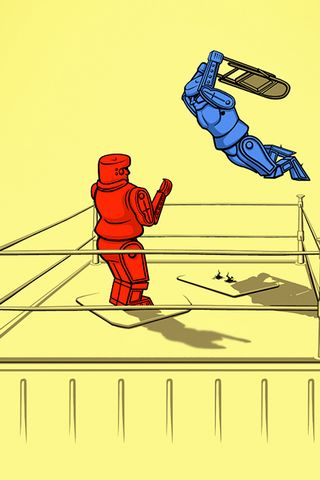 Robot Wrestling
