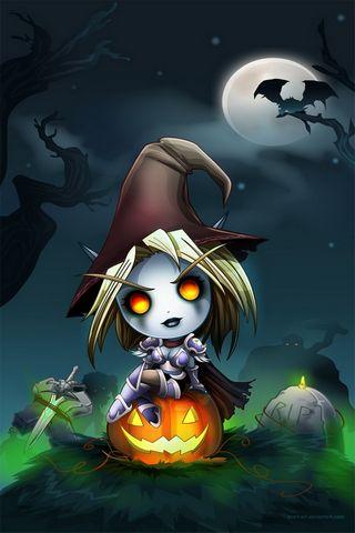 Forsakens Halloween 640x960