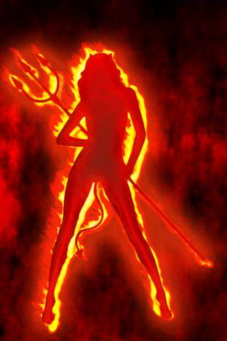 شيطان النار