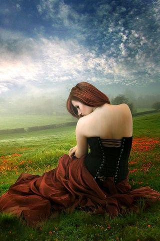 Girl In Field*