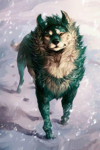 Serigala hijau