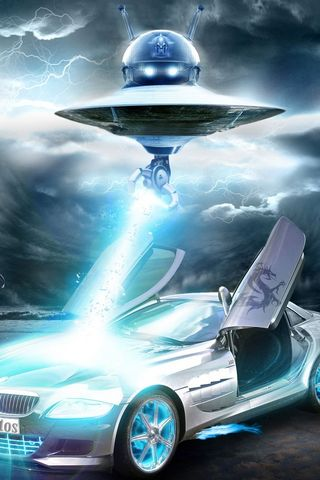 UFO และ รถ