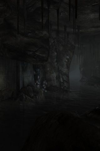 Dark Underground Rivers