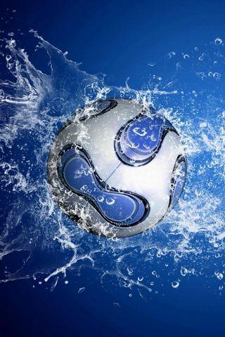 FootBall & Water