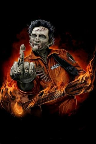 Johnny Cash Zombie