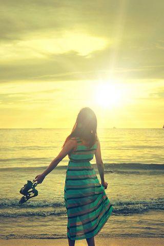 Güneşli Yaz Günü