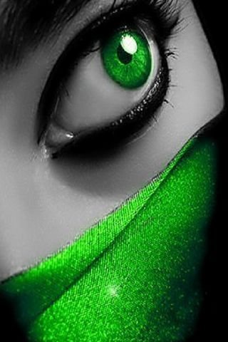 ตาสีเขียว