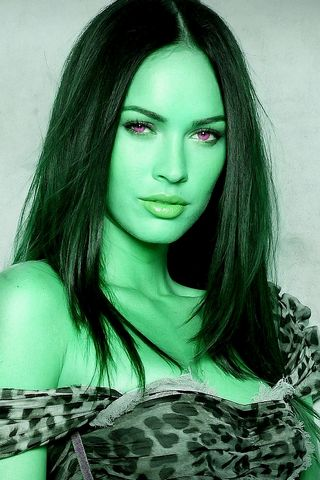 Megan Fox Green