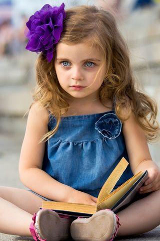 प्यारी छोटी लड़की