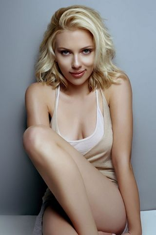 Scarlett Johansson Iphone