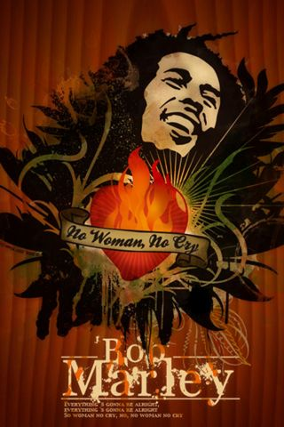 Bob Marley Iphone
