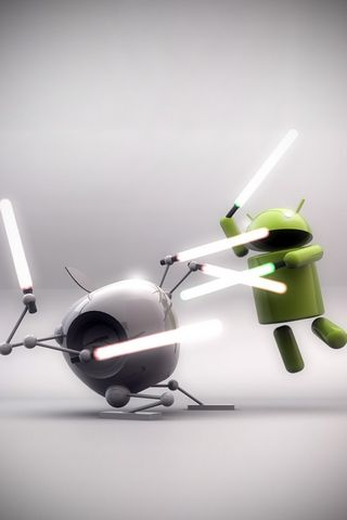 Apple Android War