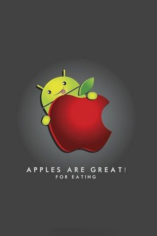 Apples Are Great For Eating