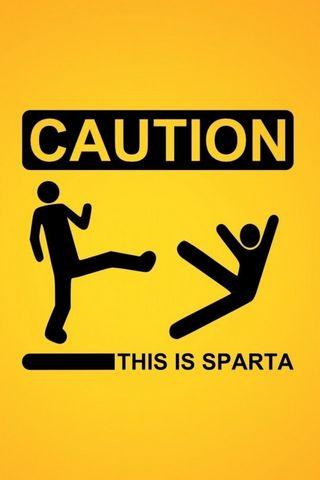 Minimalistic Sparta Signs
