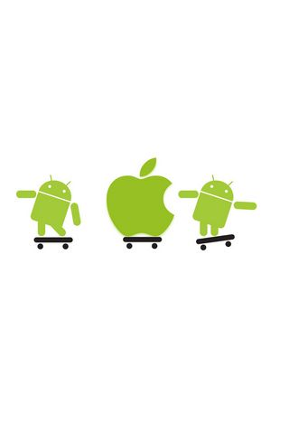 APPLE y ANDROIDE