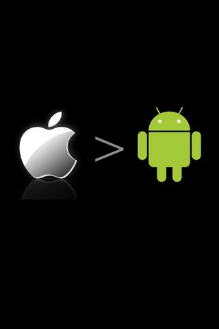 Apple Greater Than Android