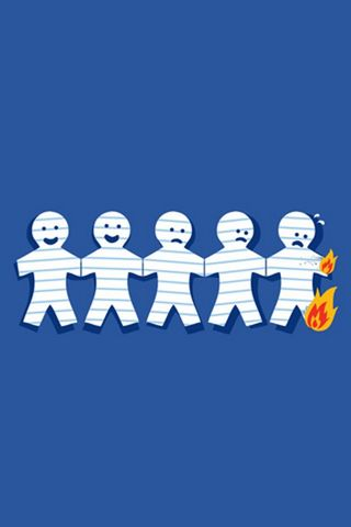 Burning Paper Men