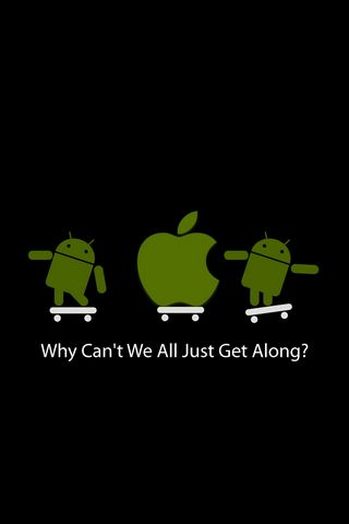 Apple Android Bersamaan