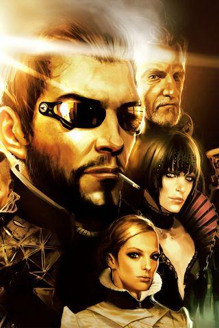 Deus Ex Human Revolution Art