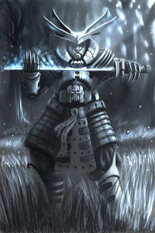 Samurai escuro