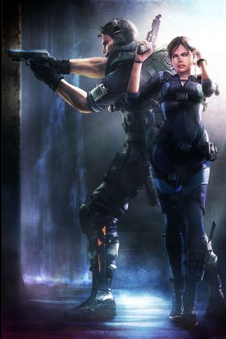 Resident Evil - Chris And Jill