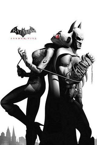 cidade de Arkham do Batman